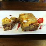 Best Bread and Butter Pudding ever! So good, my friend had two portions!