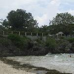 Amorita sits on a cliff above Alona Beach