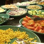 Salad bar available at lunch and dinner
