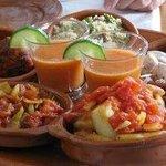 fresh prepared tapas