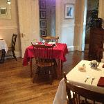 Lovely Dining Room in Red Elephant