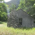 Old homestead at Buchner ranch