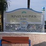 Entrance to Sun Splash Park