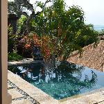 Another view of the plunge pool