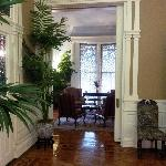 The Foyer, looking into the Ladies' Drawing Room
