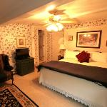 Room 3 is tastefully furnished and comfortable