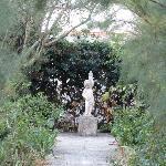 The grounds - a garden setting