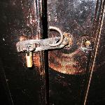 The lock to our room