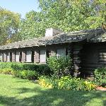 This log structure was built during the Great Depression by the Civilian Conservation Corps