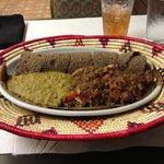 Yebeg Alecha- lamb dish yummy!!