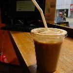 Iced-coffee at Cafe Zambra