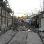 The road repairs