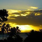 Sunset on Taveuni