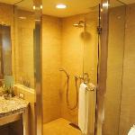 Bathroom with bath tub and shower