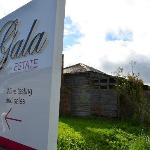 Gala Estate sign.