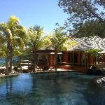 piscine / restaurant