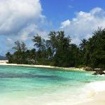 Unbewohnte Insel südöstliche Lage, Badestopp + Barbecue