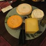 The other half of the cheese selection