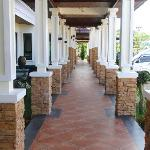 Pathway Along Hotel