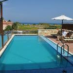piscina e vista mare