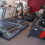 gym has plenty of equipment