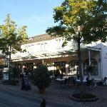 Voorkant Hotel Luisenstrasse, Badenweiler.