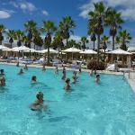 Aquagym à la piscine principale