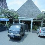 Hotel main entrance view