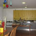 Breakfast servery area