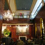 A view of the lobby area