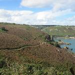 Cliff walk north part of Island
