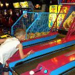 The arcade at Grand Harbor