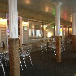 Interior / main dining room. CUTE!