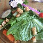 Garden side salad.