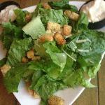 'Dinner'-size Caesar salad.