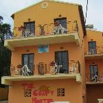 Front view of Comfy Hostel