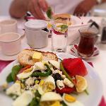 Pasha frukost - Pasha breakfast