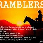 Ramblers Advert