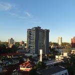 vista desde el 5to piso nuestro balcón