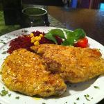 Pork Chops with grain mustard