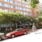 Около отеля
