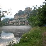 Baynac ,from the River Dordogne