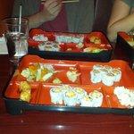 Lunch Box at Yama Sushi Bar