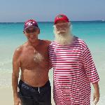Santa on the beach at CDM