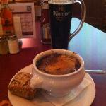 Onion Soup & Beer