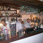 The bar at Tia Maria's