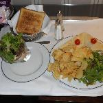 "Lanche do ""room service"""