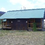"Our cabin where we layed our very tired heads. The days were not long enough to enjoy the ""Beaut"