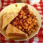 Elk Springs Breakfast...Yum!