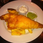 Fish & Chips with Mushy Peas